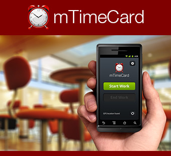 Mobile TimeCard - the easiest mobile check in